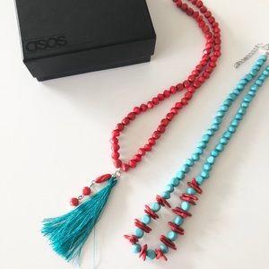 NWT ASOS Necklace Set